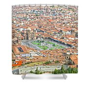 Cusco Peru Street Scenes Shower Curtain