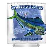 Custom T Shirts Shower Curtain