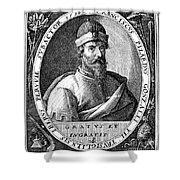 Francisco Pizarro Shower Curtain