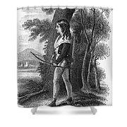 George Gordon Byron Shower Curtain