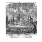 Great Britain: Parliament Shower Curtain