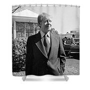 Jimmy Carter (1924- ) Shower Curtain
