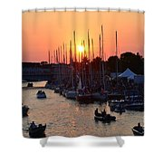 Mackinac Race Shower Curtain