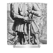 Paracelsus, Swiss Polymath Shower Curtain by Science Source