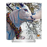 Rex Mardi Gras Parade Shower Curtain