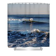 Surfers Make The Ocean Better Series Shower Curtain