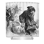 Taming Of The Shrew Shower Curtain
