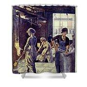 World War I: U.s. Poster Shower Curtain