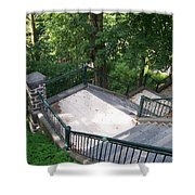 100 Steps At The Wissahickon Shower Curtain