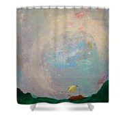 1000 Wishes Shower Curtain