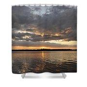 10000 Islands Sunset Shower Curtain