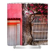 10b-30b Shower Curtain by Skip Hunt