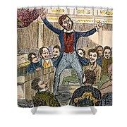 Davy Crockett (1786-1836) Shower Curtain