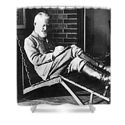 George Bernard Shaw Shower Curtain