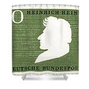 Heinrich Heine (1797-1856) Shower Curtain