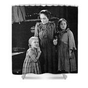 Silent Still: Children Shower Curtain