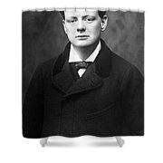 Winston Churchill Shower Curtain
