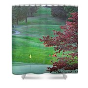 11th Hole At Clarksville C C Shower Curtain