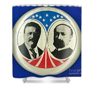 Presidential Campaign: 1904 Shower Curtain