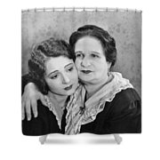 Silent Film Still: Women Shower Curtain