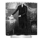 Thomas Jefferson (1743-1826) Shower Curtain by Granger