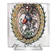 William The Conqueror Shower Curtain