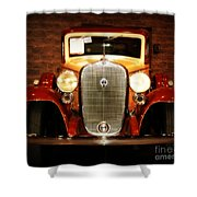 12v Collector Car Shower Curtain by Susanne Van Hulst