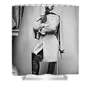 Civil War: Union Soldier Shower Curtain