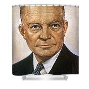 Dwight D. Eisenhower Shower Curtain