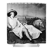 Johann Goethe (1749-1832) Shower Curtain