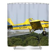 Plane Shower Curtain