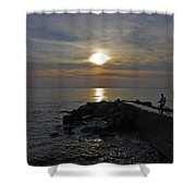 13- The Witness Shower Curtain