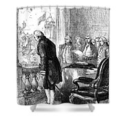 Washington: Inauguration Shower Curtain by Granger