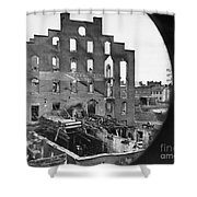 Civil War: Richmond, 1865 Shower Curtain