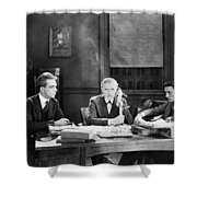 Film Still: Telephones Shower Curtain