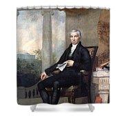James Monroe (1758-1831) Shower Curtain