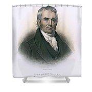 John Marshall (1755-1835) Shower Curtain