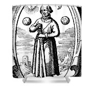 Paracelsus, Swiss Polymath Shower Curtain