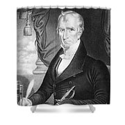 William Henry Harrison Shower Curtain
