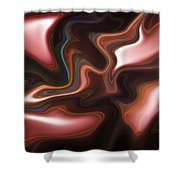 Abstract Pattern Art Shower Curtain