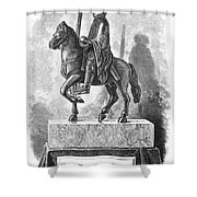 Charlemagne (742-814) Shower Curtain by Granger