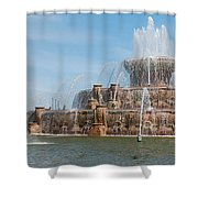 Chicago City Scenes Shower Curtain