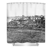 Civil War: Richmond, 1865 Shower Curtain