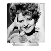 Clara Bow (1905-1965) Shower Curtain