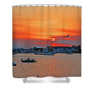 15- Old Port Cove Shower Curtain