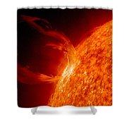 Solar Prominence Shower Curtain