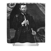 Ulysses S. Grant Shower Curtain