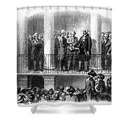 Washington: Inauguration Shower Curtain