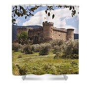 15th Century Castle Of The Duke Of Shower Curtain
