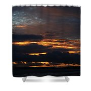 Bournemouth Sunset Shower Curtain